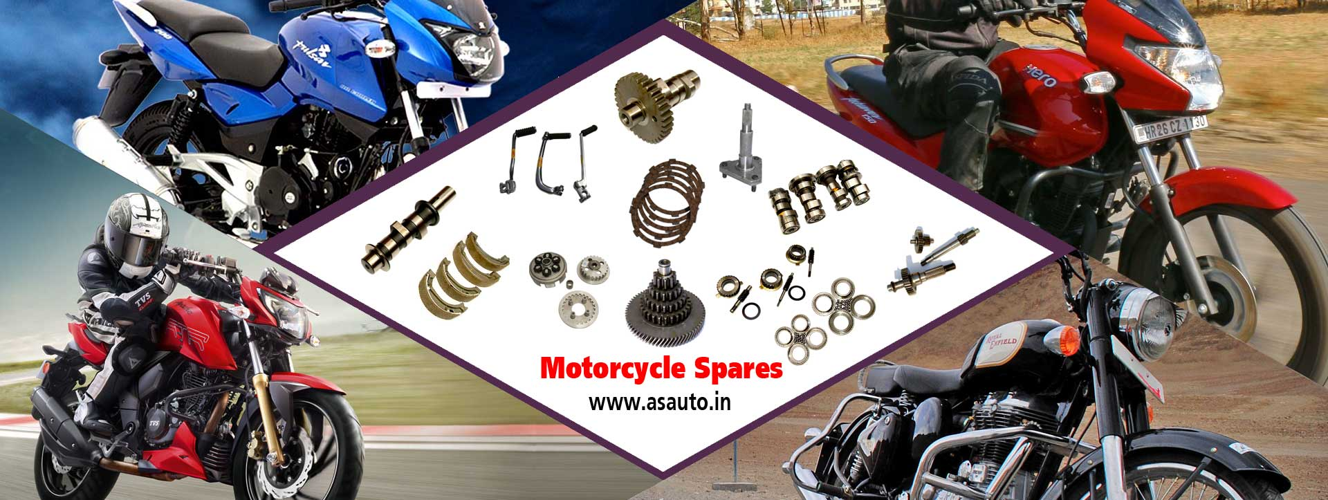 motorcycle auto parts 4 stroke bike spare parts manufacturers suppliers distributors in india punjab ludhiana