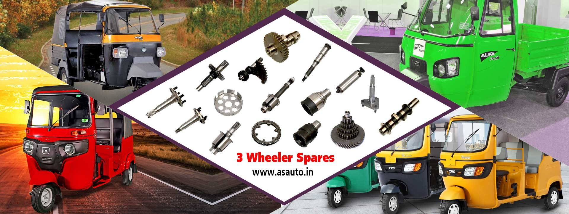 3 wheeeler auto parts three wheeler spare parts lpg cng 3 wheeler parts manufacturers suppliers distributors in india punjab ludhiana