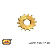 FRONT  WHEEL SPROCKET RAJDOOT NEW