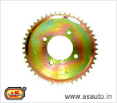 REAR WHEEL SPROCKET RAJDOOT NEW