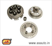 CLUTCH HUB, HOUSING, CENTER