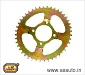 REAR WHEEL SPROCKET HERO HONDA