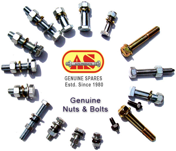 Auto Parts Nuts Bolts Washers